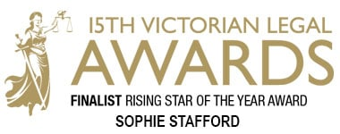 Finalist LIV Awards Top 1 Rising Stars Sophie Stafford