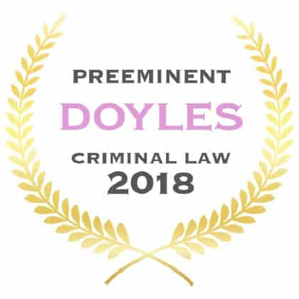 Andrew George Preeminent Criminal Lawyer Doyles Guide