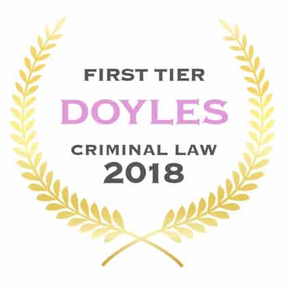 Doogue + George First Tier Criminal Law Firm Doyles Guide