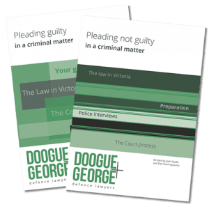 Pleading Guilty Not Guilty Book